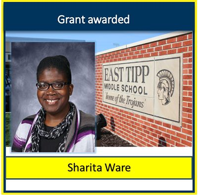 East Tipp teacher awarded microgrant